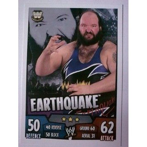 Slam Attax Rumble Legends Earthquake