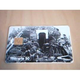 Carte T�l�phonique 50 Unit�s - 50� Anniversaire Du D�barquement - M�morial De Caen
