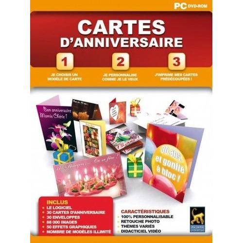 Cartes Danniversaire Solutions Créafuté Sur Pc