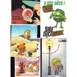 Cartes Postales Bd Journal Spirou
