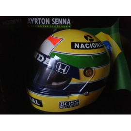 casque ayrton senna collection echelle 1 2 mclaren honda 1988. Black Bedroom Furniture Sets. Home Design Ideas