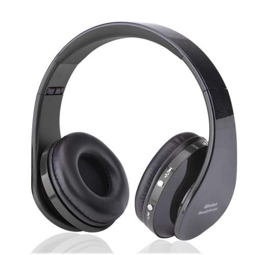 casque bluetooth avec appel mic microphone universel 4 0 bluetooth st r o sans fil audio jack 3. Black Bedroom Furniture Sets. Home Design Ideas