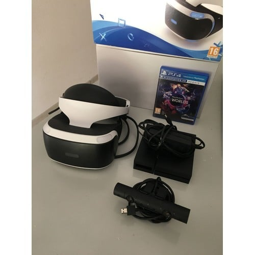 casque playstation r alit virtuelle un jeu vr achat et vente. Black Bedroom Furniture Sets. Home Design Ideas