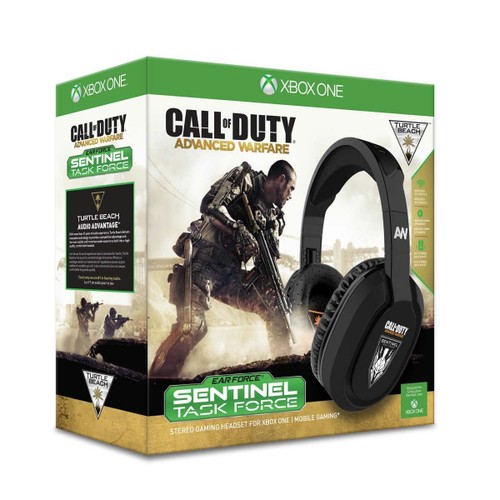 casque sans fil turtle beach call of duty sentinel task force pour xbox one. Black Bedroom Furniture Sets. Home Design Ideas