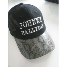 casquette johnny hallyday rester vivant neuf et d 39 occasion. Black Bedroom Furniture Sets. Home Design Ideas