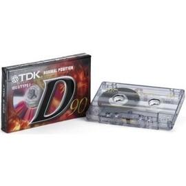 tdk d90 normal position iec i typei cassette audio vierge. Black Bedroom Furniture Sets. Home Design Ideas