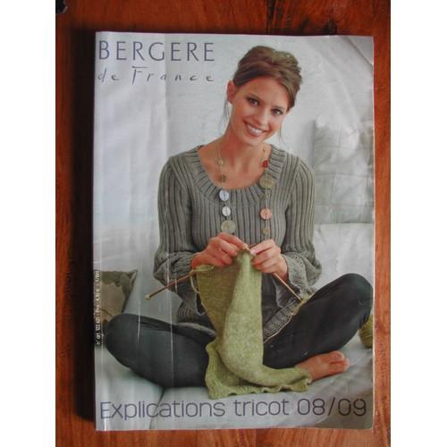 catalogue berg re de france 08 09 explications tricots rakuten. Black Bedroom Furniture Sets. Home Design Ideas