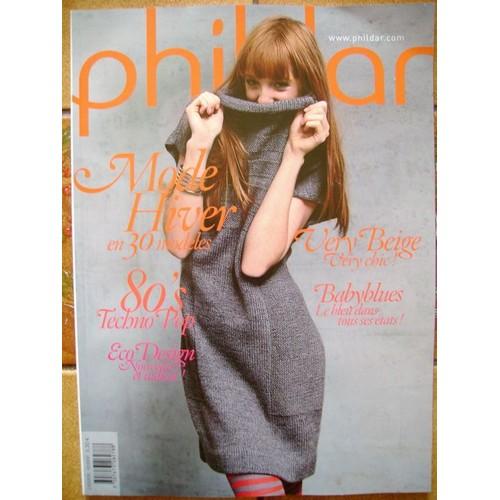 catalogue creations phildar femme mode hiver en 30 modeles n 009. Black Bedroom Furniture Sets. Home Design Ideas