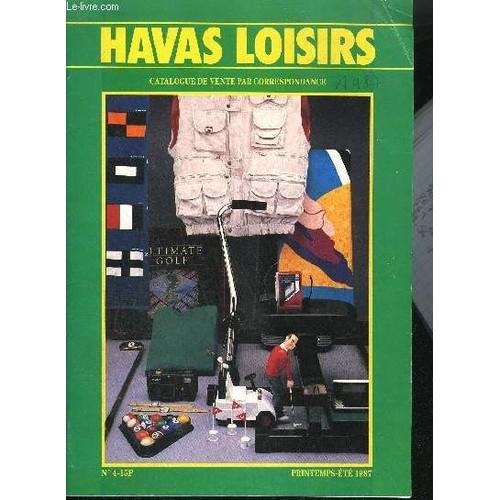 Catalogue de vente par correspondance havas loisirs for Catalogue de fleurs par correspondance