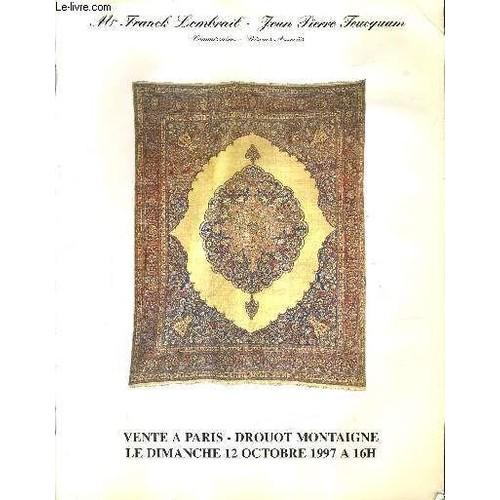 catalogue de ventes aux encheres important ensemble de tapis persans caucasiens et francais. Black Bedroom Furniture Sets. Home Design Ideas