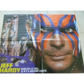Catch Poste Jeff Hardy 41cm 52cm Au Verso Jeff Hardy