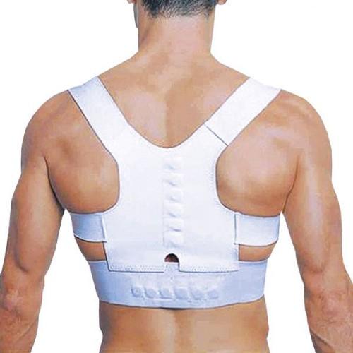 ceinture soutien support dos magn tique douleur posture armor r glable unisexe. Black Bedroom Furniture Sets. Home Design Ideas
