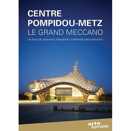 centre pompidou metz le grand meccano dvd zone 2 priceminister rakuten. Black Bedroom Furniture Sets. Home Design Ideas