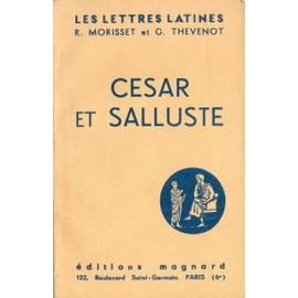 cesar et salluste chapitre xi et xii des lettres latines classe de troisieme
