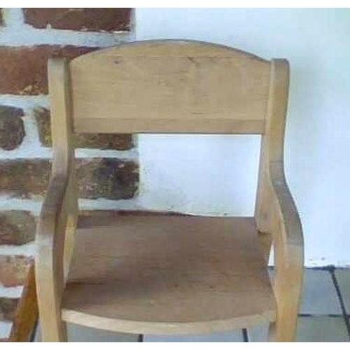 chaise basse en bois naturel pour grande poupepoupon peluche wooden chair for dolls little baby - Chaise Basse