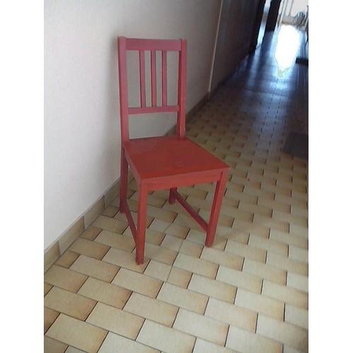 chaise bistrot solide. Black Bedroom Furniture Sets. Home Design Ideas