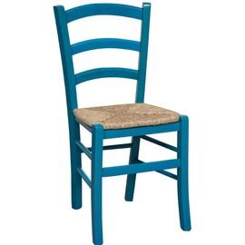 Chaise En Htre Massif Finition Blanc Laque Avec Assise Paille L45xpr45xh88 Cm