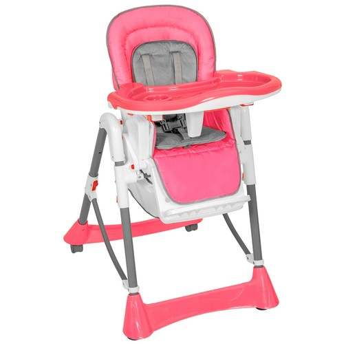chaise haute pour b b enfant grand confort rose pas cher. Black Bedroom Furniture Sets. Home Design Ideas