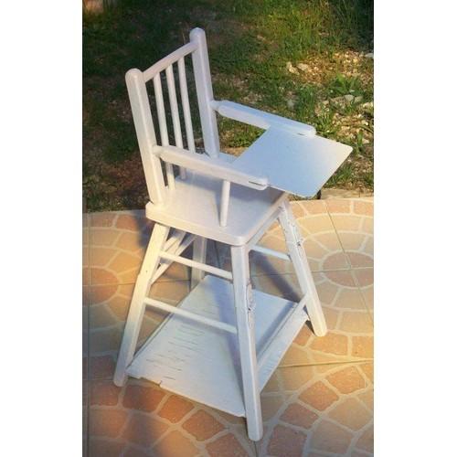 chaise haute pour poup es ann e 1949 neuf et d 39 occasion. Black Bedroom Furniture Sets. Home Design Ideas
