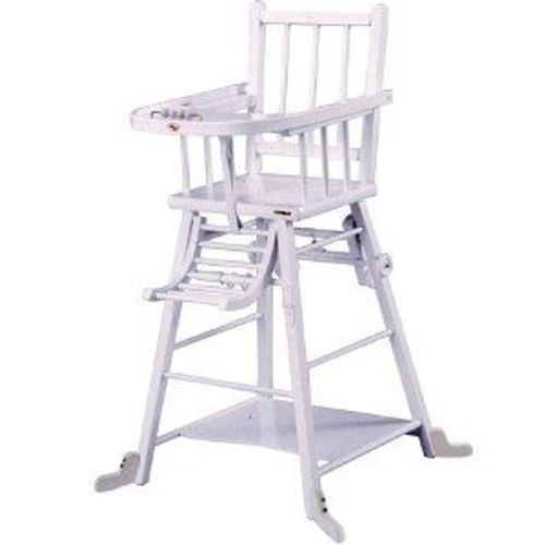 Chaise Haute Bebe Transformable Combelle Blanc