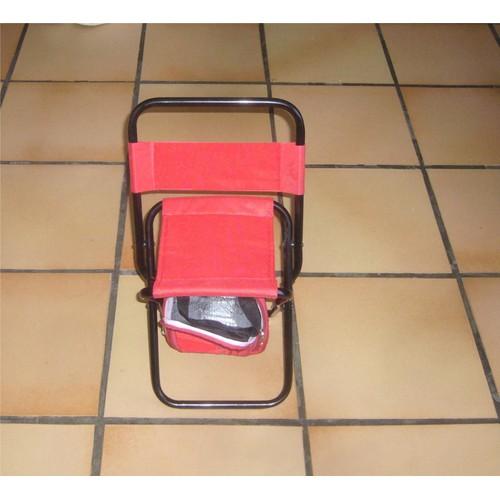 Chaise Pliante De Plein Air A Sac Poche Fraicheur Isotherme Siege Dossier Pliable Solide Pratique