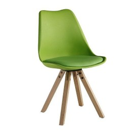 chaise scandinave rtro design sofia vert - Chaise Scandinave Design