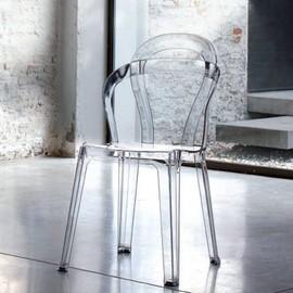 Chaise Transparente Salle A Manger Marianne Lot De 4