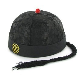 offer buy  chapeau chinois noir taille