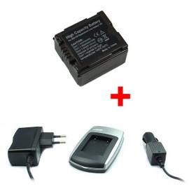 Chargeur + Batterie VBG130 pour Panasonic SDR-H20, H40, H48GK, H50, H60, H68GK
