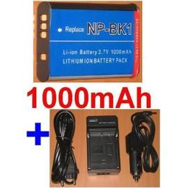 Chargeur de batterie pour Sony DSC-S750 S780 S950 S 750 780 950 NP-BK1