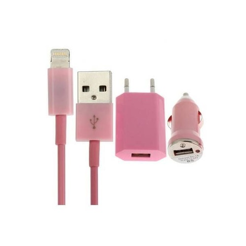 chargeur iphone 5 5s 5c 6 ipad mini et nouvelle g n ration pack 1 prise secteur 1 c ble. Black Bedroom Furniture Sets. Home Design Ideas