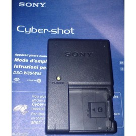 chargeur pour appareil photo sony cybershot dsc w55 achat et vente. Black Bedroom Furniture Sets. Home Design Ideas