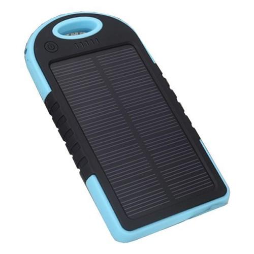 chargeur solaire usb 5000 mah tanche pour t l phone portable tablette gps. Black Bedroom Furniture Sets. Home Design Ideas