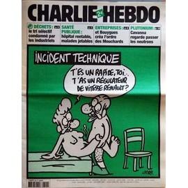 charlie hebdo n 643 du 13 10 2004 dechets le tri selectif condamne par les industriels. Black Bedroom Furniture Sets. Home Design Ideas