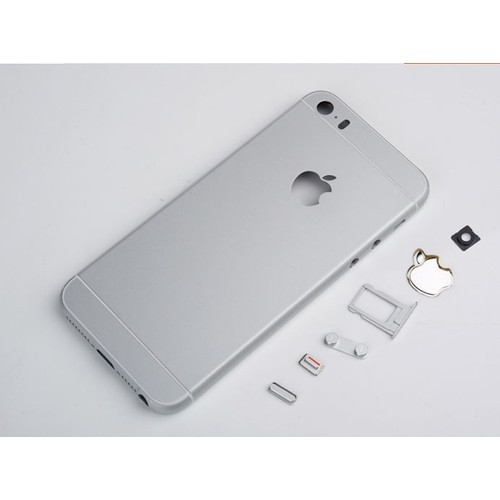 ch ssis coque arri re ardoise pour apple iphone 5s style iphone 6 silver. Black Bedroom Furniture Sets. Home Design Ideas