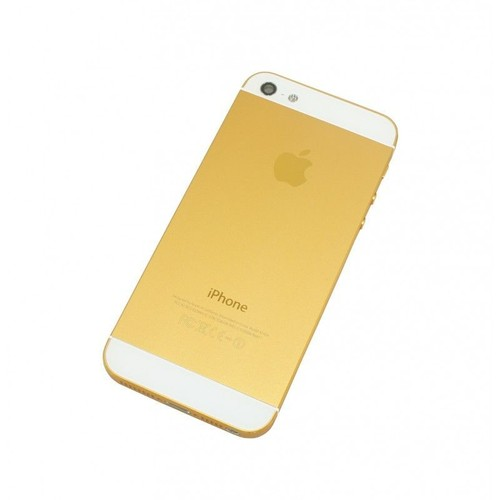 chassis coque arri re gold et blanc iphone 5 tournevis pas cher. Black Bedroom Furniture Sets. Home Design Ideas
