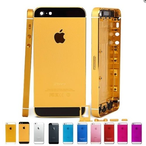 chassis coque arri re gold et noir iphone 5 tournevis pas cher. Black Bedroom Furniture Sets. Home Design Ideas
