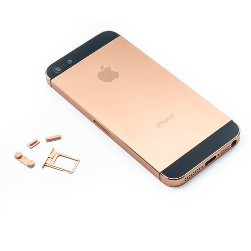 chassis coque arrire rose gold noir iphone 5 tournevis - Chambre Rose Gold