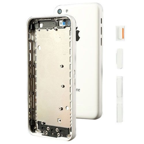 ch ssis coque fa ade arri re vide iphone 5c blanc kit d 39 outils. Black Bedroom Furniture Sets. Home Design Ideas