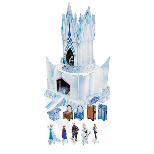 ch teau la reine des neiges palais de glace jouet no l frozen ice castle. Black Bedroom Furniture Sets. Home Design Ideas