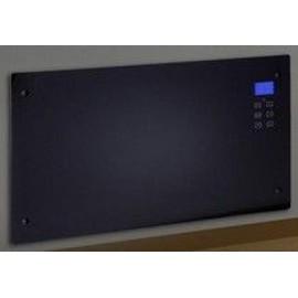 radiateur electrique decoratif design lcd noir 2000w pas cher. Black Bedroom Furniture Sets. Home Design Ideas