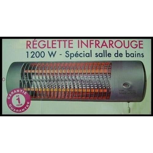 Chauffage rayonnant mural r glette radiateur infrarouge for Chauffage radiant mural