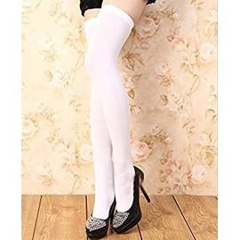 chaussettes couleur haute collant au dessus du genou mode femme. Black Bedroom Furniture Sets. Home Design Ideas