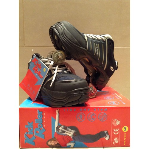 chaussure roller kick roller shoes