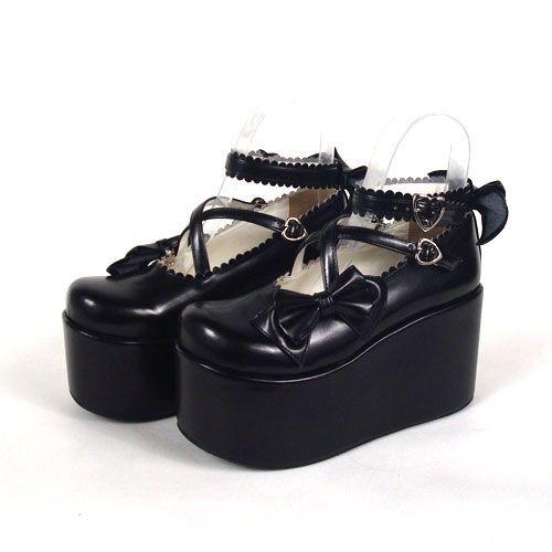 paris japonaise noir escarpins chaussure verni chaussure vy6Yf7bg