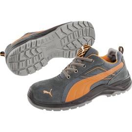 économiser 9d8ca b0ced Chaussures basses de sécurité S1P Taille: 45 PUMA Safety Omni Orange Low  SRC 643620-45 coloris noir, orange 1 paire
