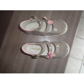Chaussures Fille Gbb Gris Clair - Taille 25