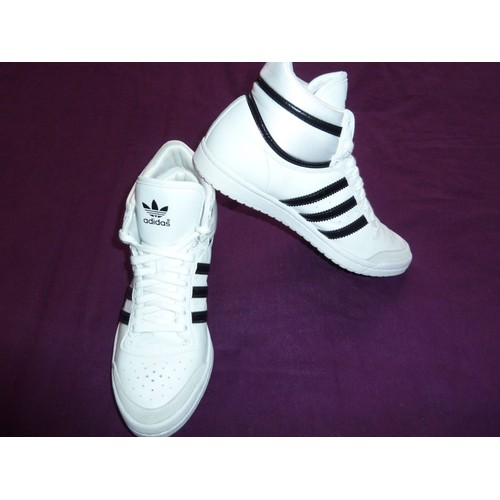 adidas chaussures / baskets top ten hi sleek en noir