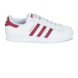 ADIDAS SUPERSTAR Blanc Bordeaux