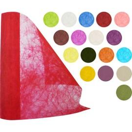 Chemin de table non tisse 30cm x 10m de couleur anis for Chemin de table taupe